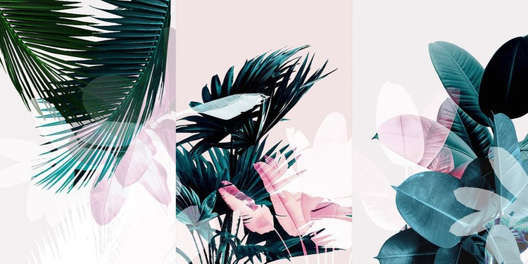3D фотообои 5D картина «Райский уголок» вид 1