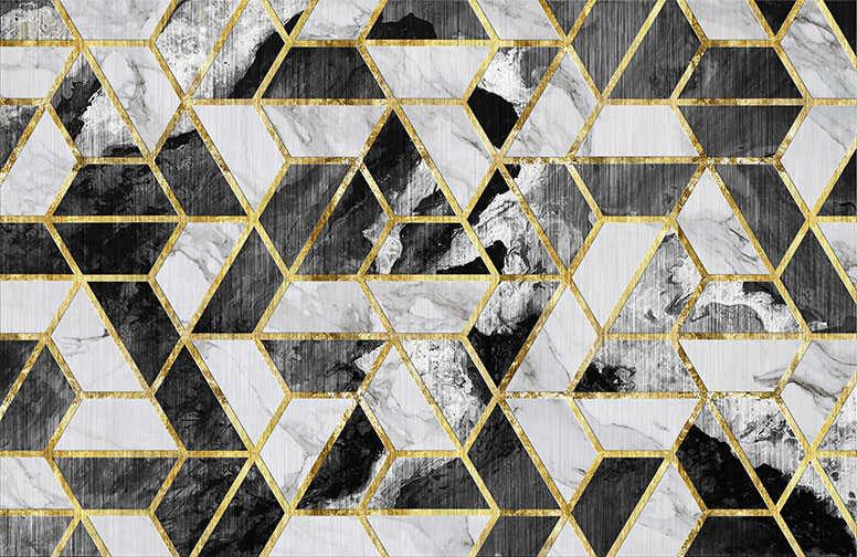 3D Ковер «Мраморная мозаика» вид 1
