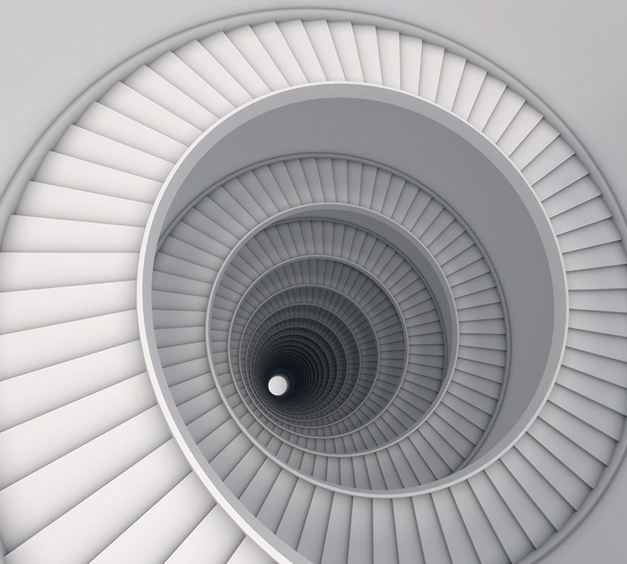 Фотошторы Бесконечная лестница<br>kit: None; gender: None;