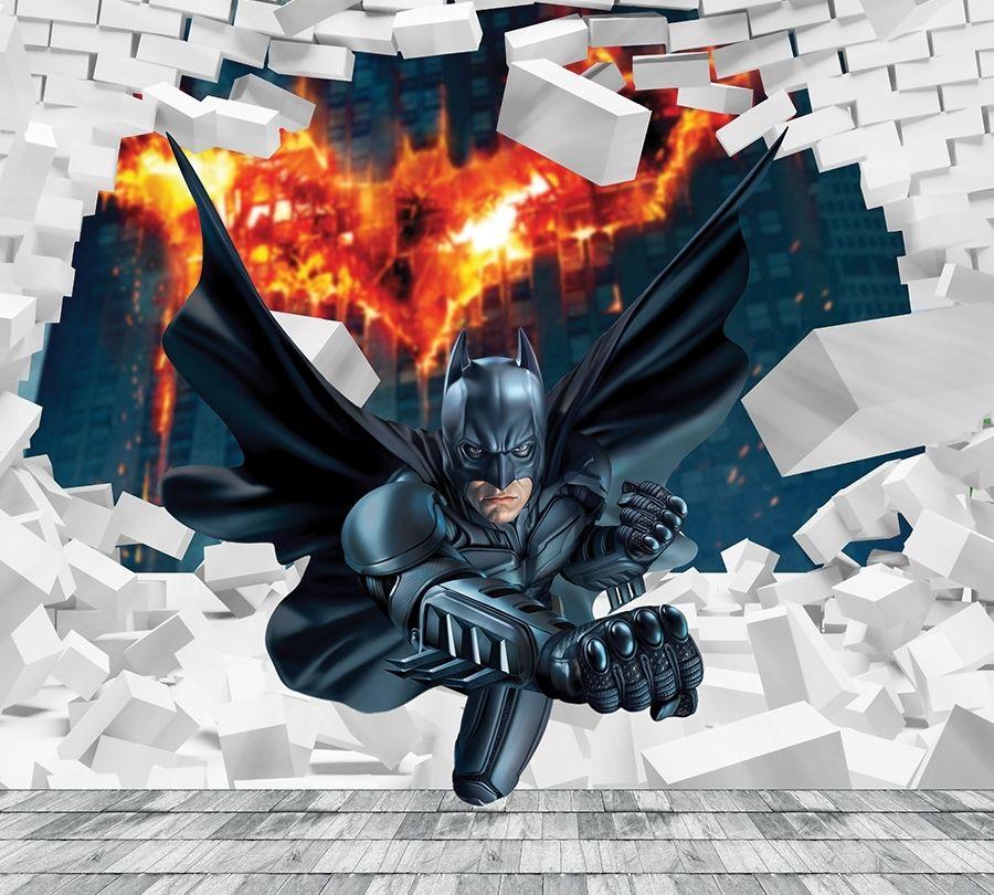 Детские фотошторы Бэтмен<br>kit: None; gender: None;