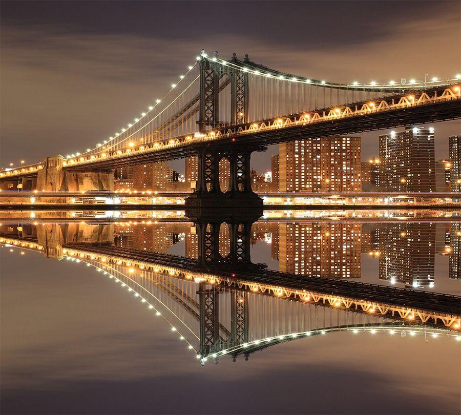 Фотошторы Бруклинский мост<br>kit: None; gender: None;