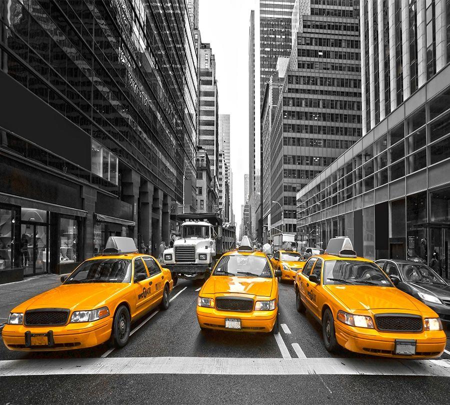 Фотошторы Такси Нью-Йорка<br>kit: None; gender: None;