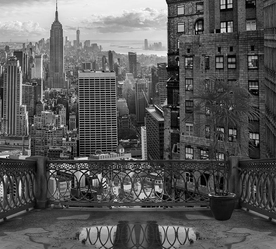 Фотошторы Балкон в Нью-Йорке<br>kit: None; gender: None;