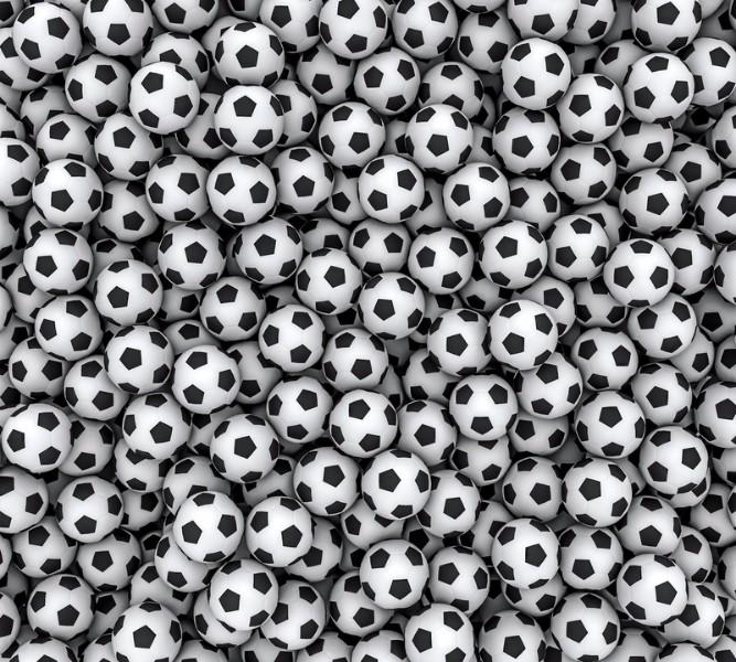 Фотошторы Множемтво мячей<br>kit: None; gender: None;