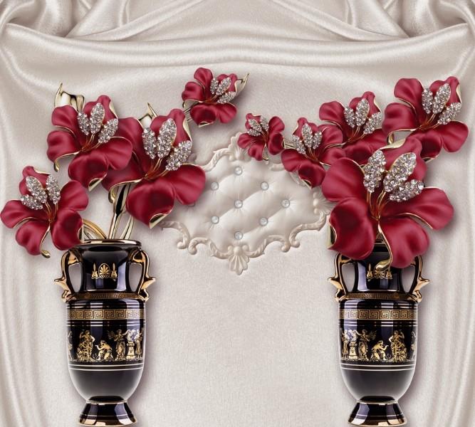 Фотошторы &amp;quotИнсталляция с античными вазами&amp;quot<br>kit: None; gender: None;