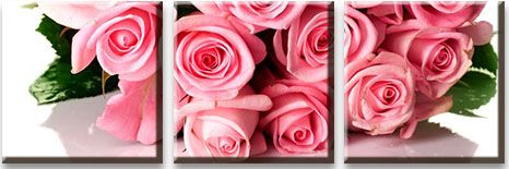 Модульная картина Букет из розовых роз<br>kit: None; gender: None;