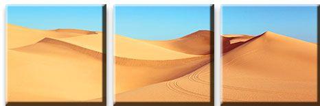 Модульная картина Дюны в пустыне<br>kit: None; gender: None;