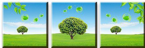 Модульная картина Экологичный пейзаж<br>kit: None; gender: None;