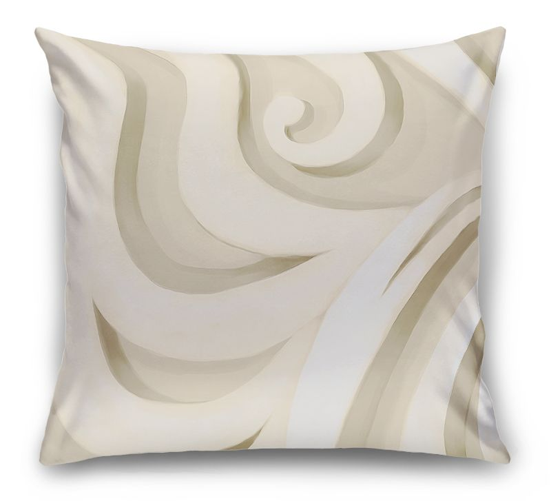 3D Подушка «Тёплый орнамент»                                                  вид 1