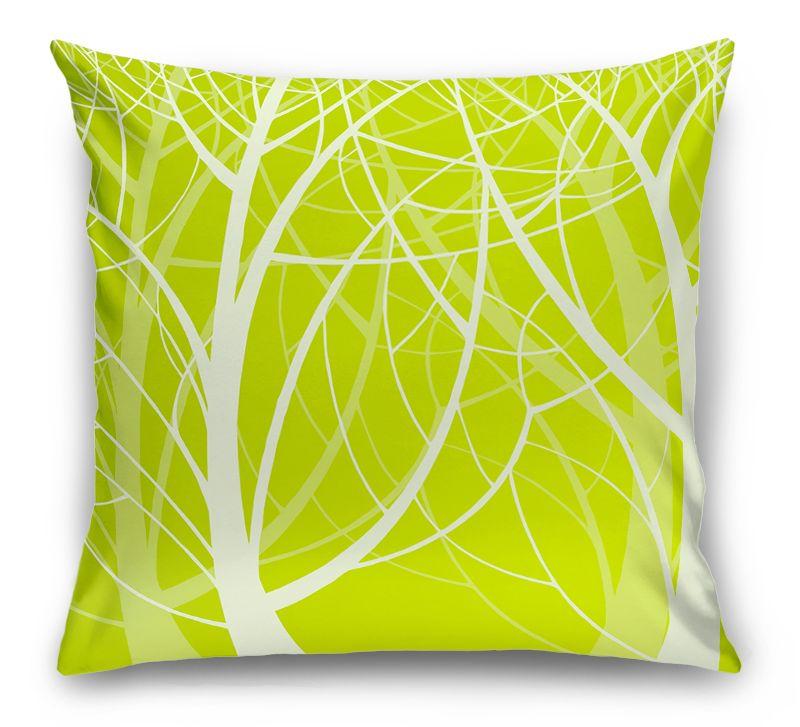 3D Подушка «Весенний лес»  вид 1