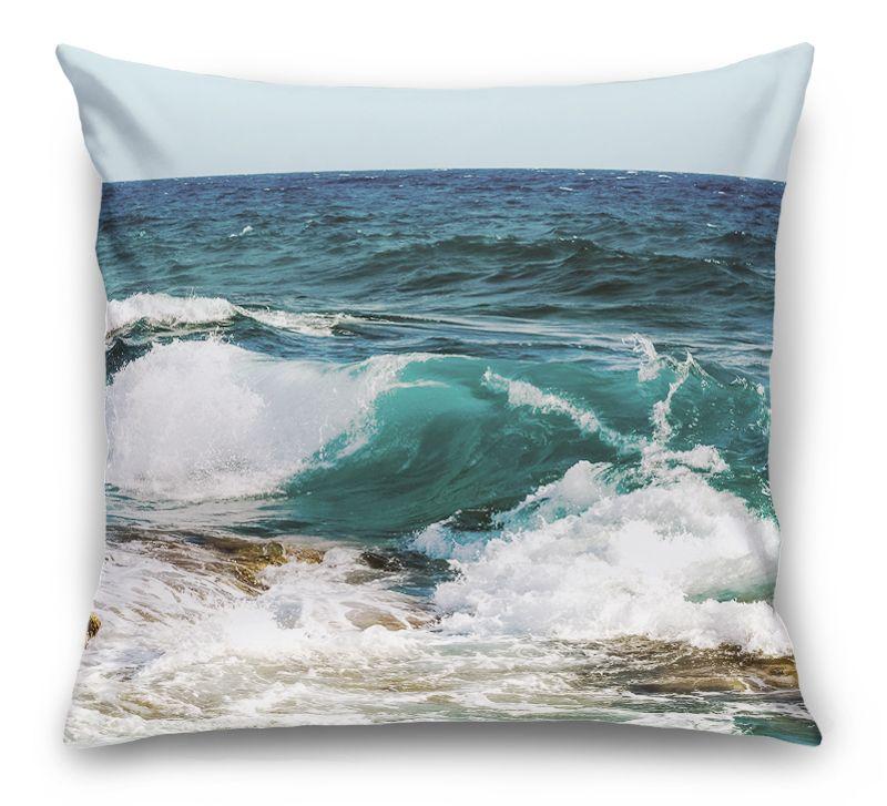 3D Подушка «Волны»  вид 1