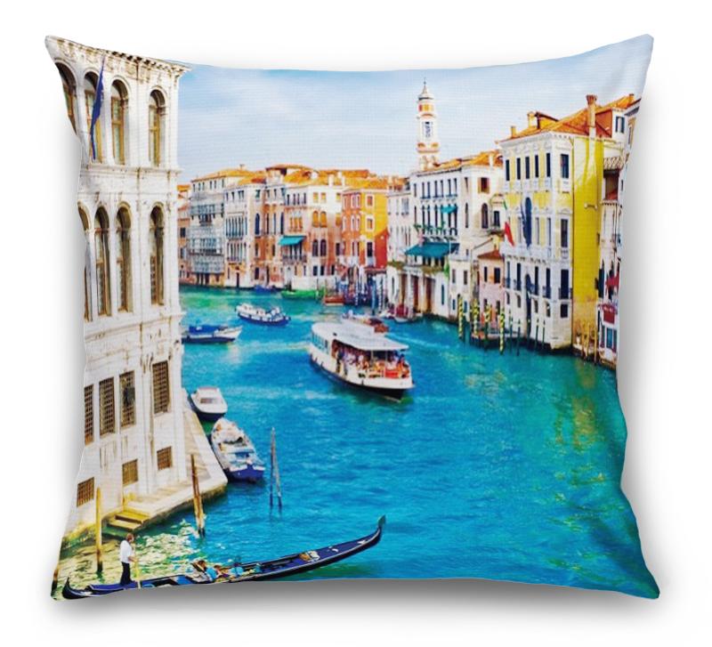 3D Подушка «Венеция: канал Ла-Джудекка»  вид 1
