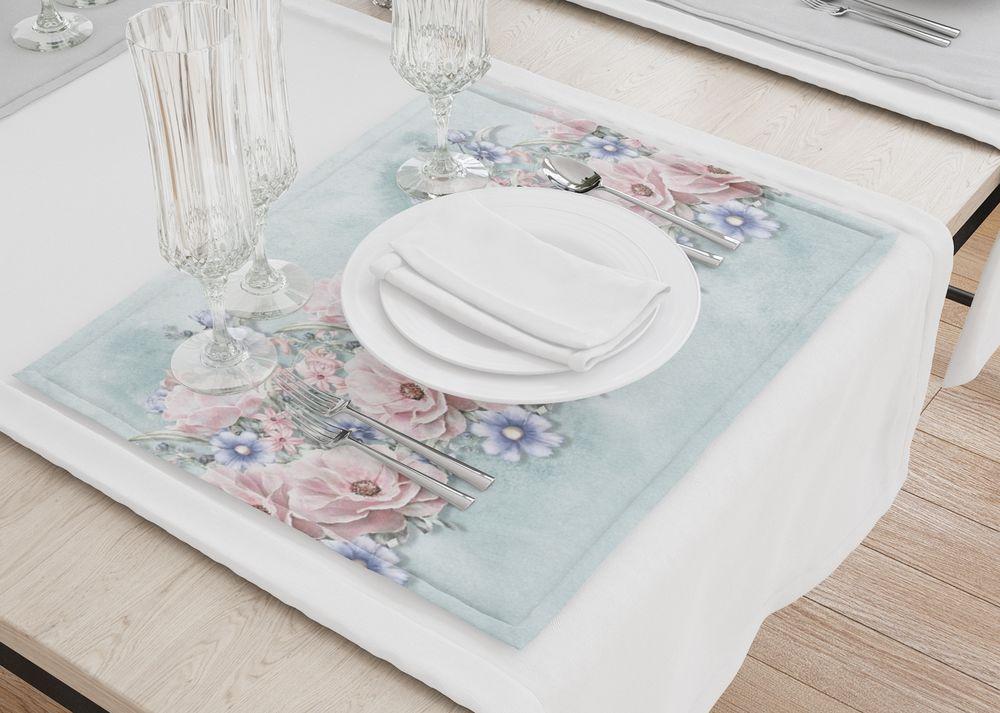 Набор салфеток «Цветочная гармония» — приобрести в магазине oboi-3d.ru. Бонусы, 1000+ пунктов самовывоза, скидки, быстрая доставка, низкие цены, акции, индивидуальный дизайн. Артикул: SAL-BT-005