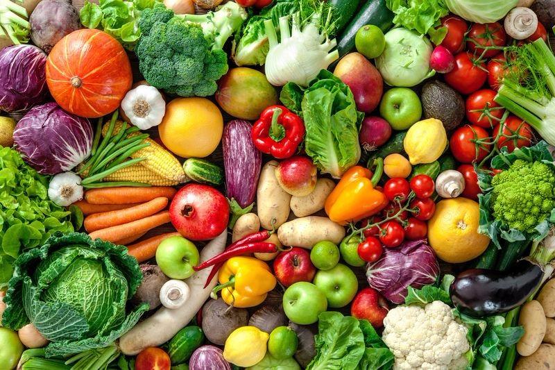 3D Фотообои «Фруктово-овощное изобилие»<br>kit: None; gender: None;