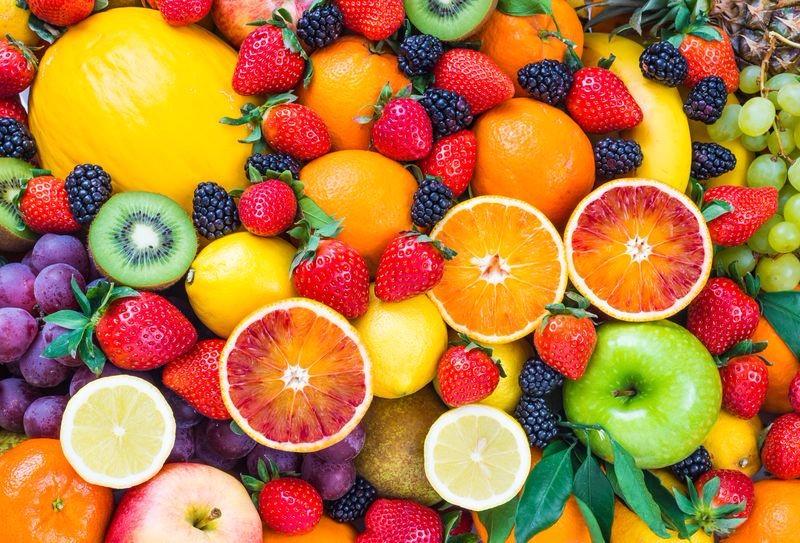 """Фотообои """"«Цитрусы с ягодами»"""""""