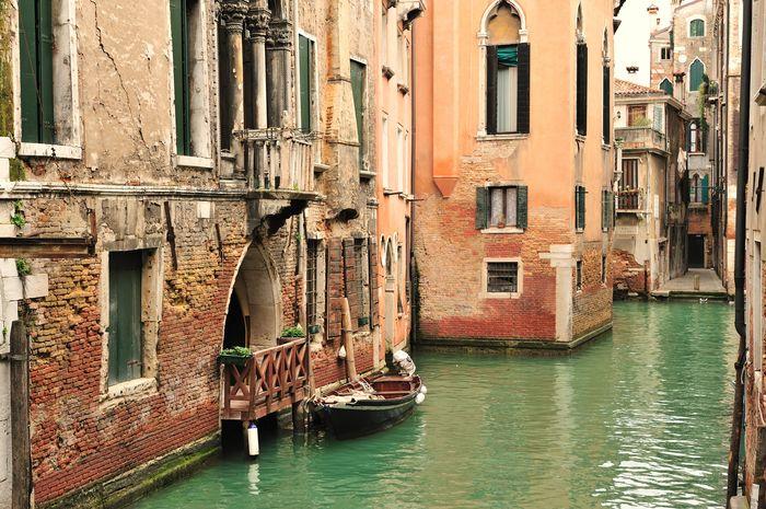 3D Фотообои «Венецианский канал»<br>kit: None; gender: None;