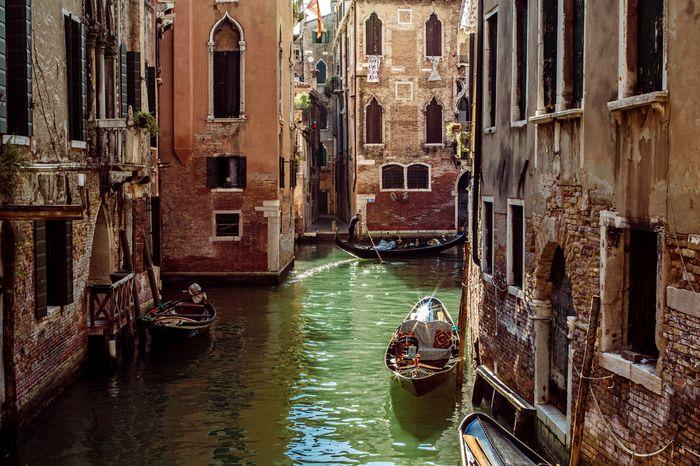 3D Фотообои «Солнечный день в Венеции»<br>kit: None; gender: None;