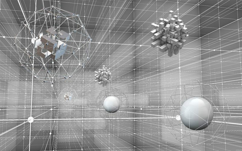 3D Фотообои «Физическая абстракиця»<br>kit: None; gender: None;