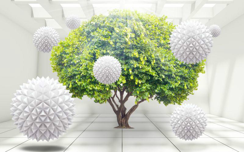 3D фотообои «Комната релаксации» вид 1