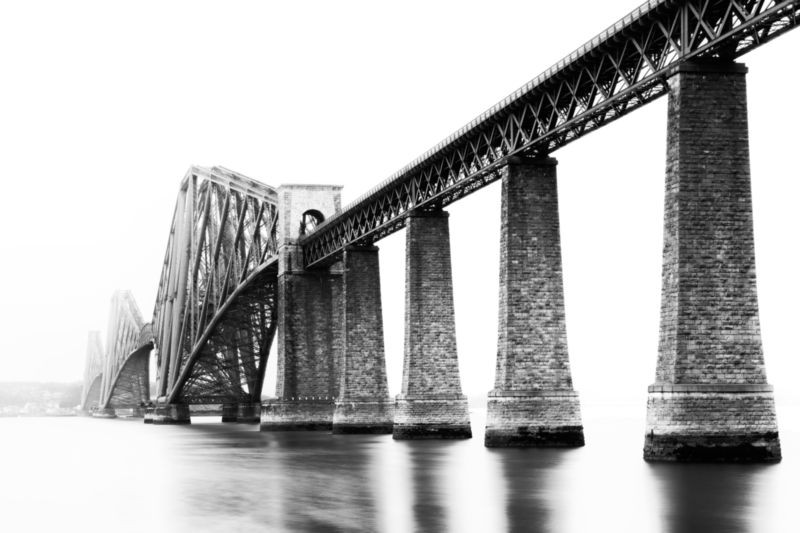 3D Фотообои «Железнодорожный мост»<br>kit: None; gender: None;