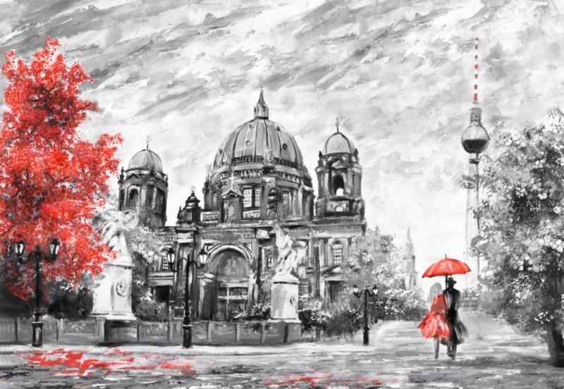 3D Фотообои «Кафедральный собор Берлин»<br>kit: None; gender: None;