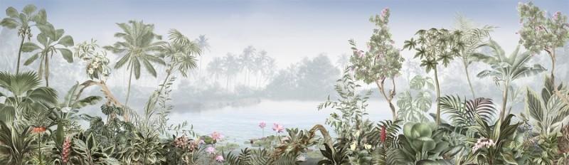 3D Фотообои «Тропическая панорама»<br>kit: None; gender: None;