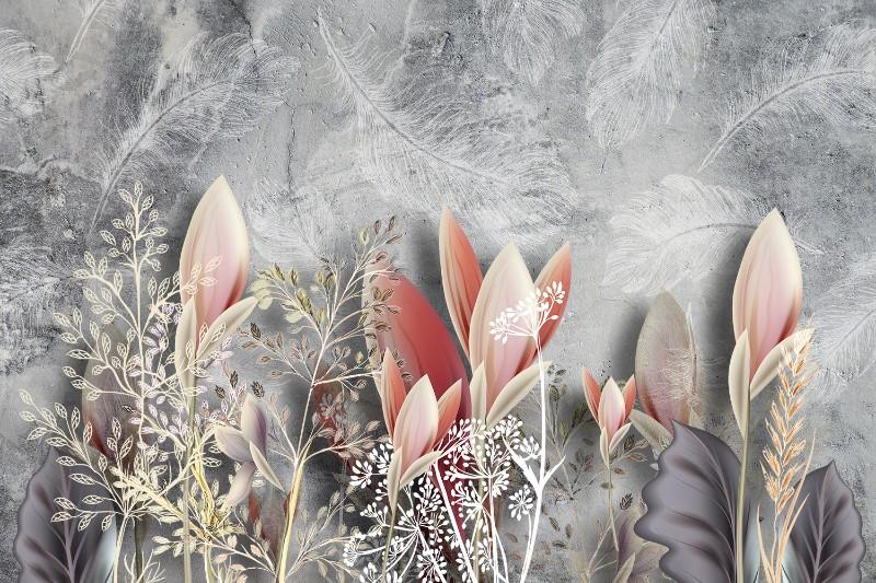 3D фотообои Фотообои «Коралловые соцветия» вид 1