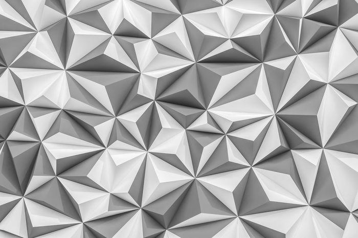 3D Фотообои «Мелкие полигоны»<br>kit: None; gender: None;
