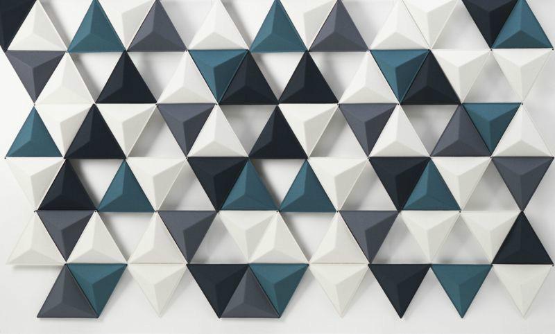 3D Фотообои «Треугольная плитка»<br>kit: None; gender: None;