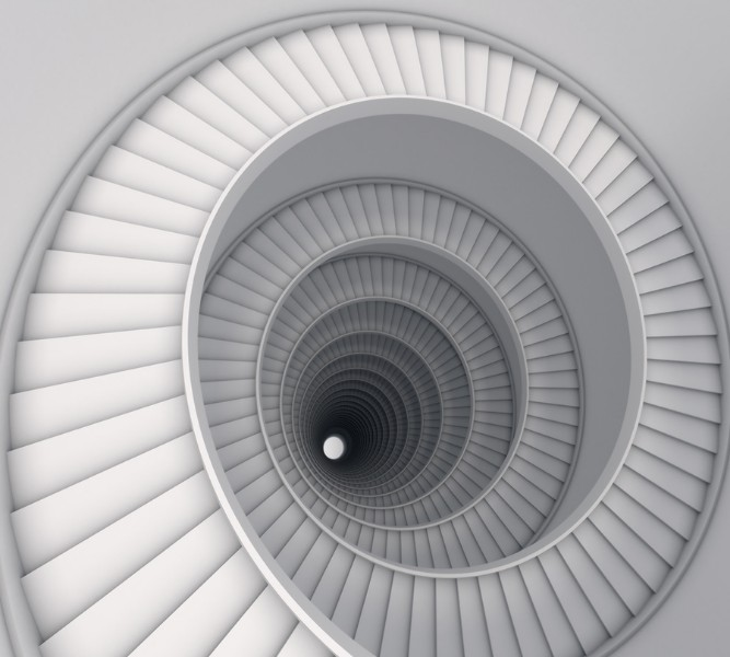 3D Фотообои Бесконечная лестница 300x270Без категории<br><br>kit: None; gender: None;