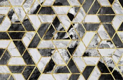 3D Ковер «Мраморная мозаика»