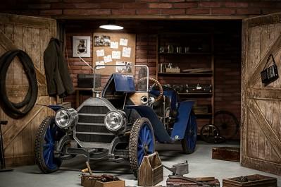 3D Ковер «Раритеный гараж»