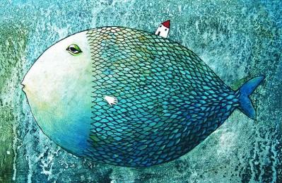 3D Ковер «Рыба из сновидений»