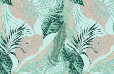 3D Ковер «Танцующие листья»
