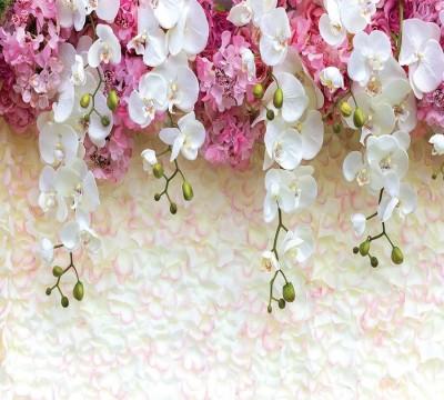 Фотошторы «Ниспадающие орхидеи»