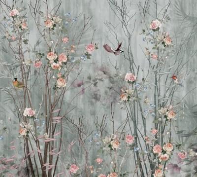 Фотошторы «Утро в японском саду»