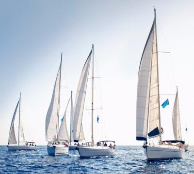 Фотошторы «Парусные яхты»