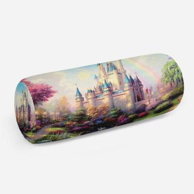3D подушка-валик «Замок для детской»