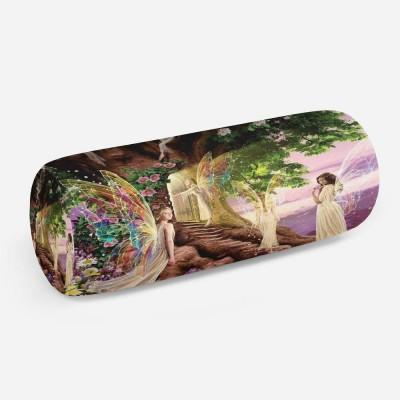 3D подушка-валик «Феи в сказочной стране»
