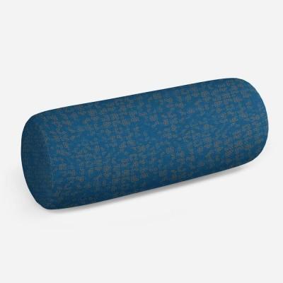 3D подушка-валик «Ромбы в стиле модерн»
