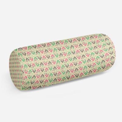 3D подушка-валик «Нежный штриховой узор»