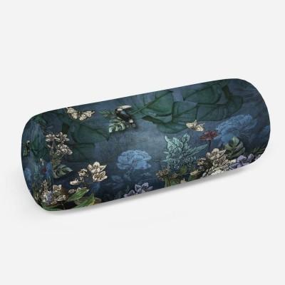 3D подушка-валик «Экзотика в лунном свете»