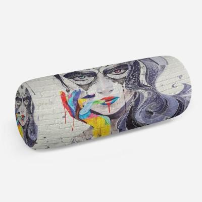 3D подушка-валик «Чародейка»
