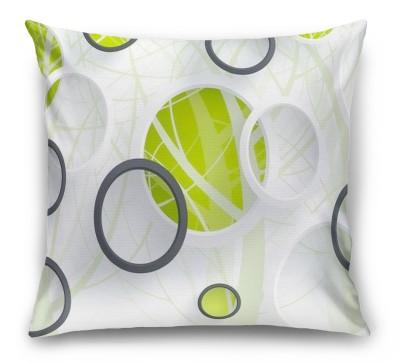 3D Подушка «Объемные зеленые круги»