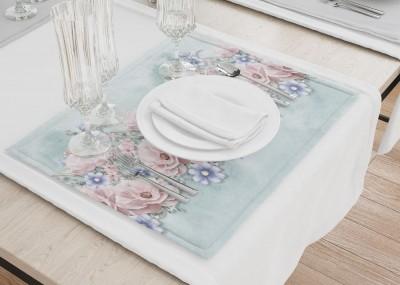 Сервировочные салфетки «Цветочная гармония»