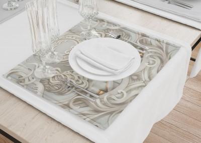 Сервировочные салфетки «Барельеф с русалками»