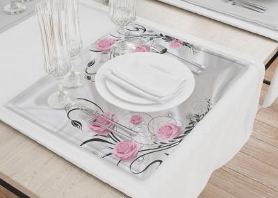 Сервировочные салфетки «Розы на шелке»