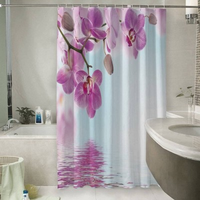 Шторы для ванной «Нежность над водой»
