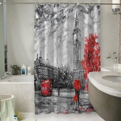 Шторы для ванной «Лондон Башня Елизаветы»