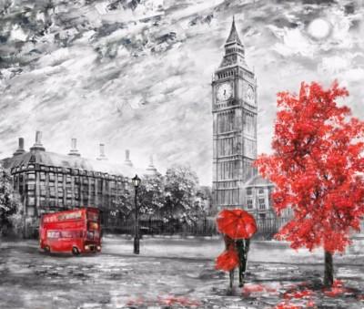 3D Фотообои «Лондон Башня Елизаветы»